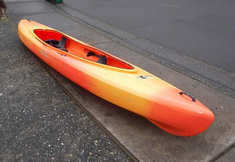 SEVENTY48 Team Midlife Crisis kayak